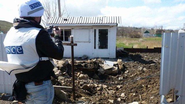 Розлючені мешканці Горлівки ледь не побили спостерігачів ОБСЄ