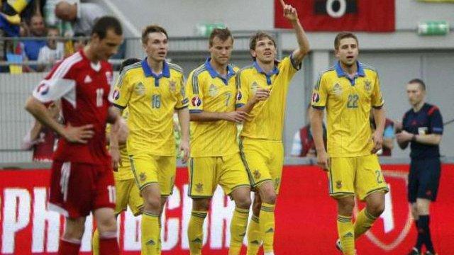 Збірна України здолала Люксембург у відбірковому матчі ЧЄ-2016