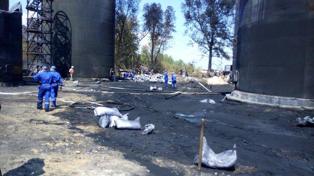 Загрози вибуху та загоряння на нафтобазі під Києвом немає, - ДСНС