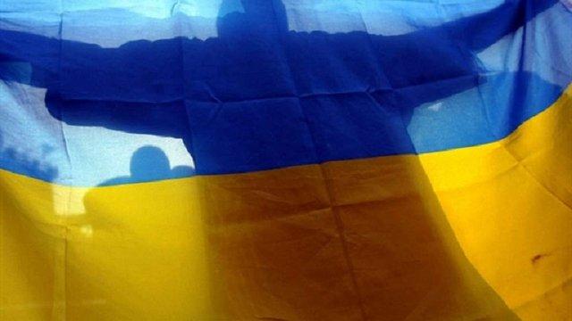 Поблизу окупованої Горлівки бійці АТО підняли прапор України (відео)