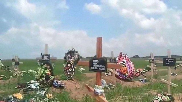 Під Донецьком нарахували могили кількох тисяч бойовиків