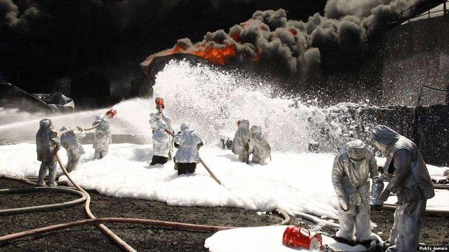 Збитки держави від пожежі на нафтобазі під Києвом склали ₴1,2 млрд, - МВС