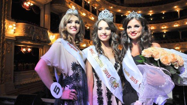 «Міс Львова 2015» стала 17-річна студентка «Львівської політехніки»