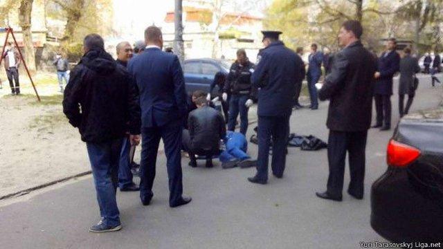 Міліція затримала трьох підозрюваних у вбивстві Олеся Бузини