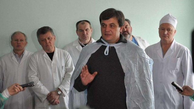 Головний медик Львова Володимир Зуб балотуватиметься до Верховної Ради