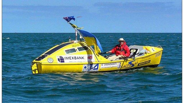 Львів'янин планує перепливти Атлантичний океан на веслах