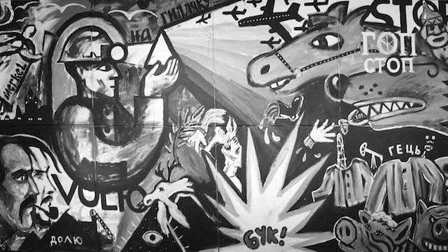 Художники  з України та Росії створили спільне полотно у Женеві