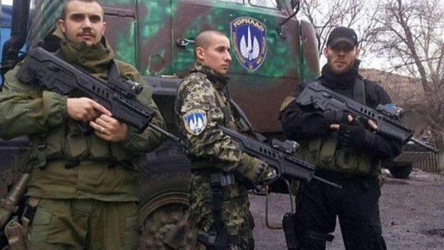 Правоохоронці почали обшук бази розформованої роти міліції «Торнадо», - МВС