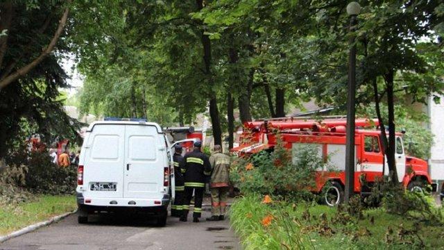 Пацієнтів київської психлікарні евакуювали у зв'язку з пожежею