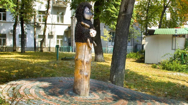 Київський пам'ятник «Їжачок у тумані» приберуть з вулиці через вандалів