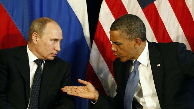 Обама вимагає від Путіна вивести війська з України
