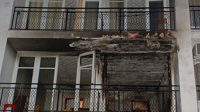 У Коблево через пожежу на базі відпочинку евакуювали 150 чоловік