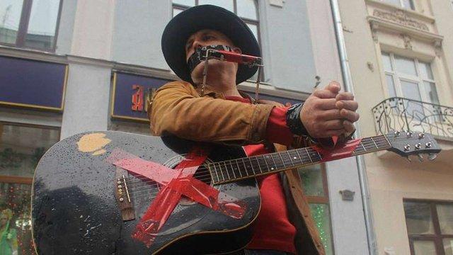 Московські вуличні музиканти протестують проти постійних затримань