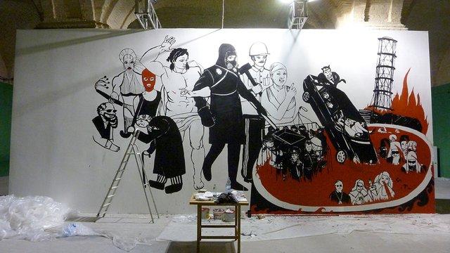 Художник судиться з Мистецьким Арсеналом через знищену роботу