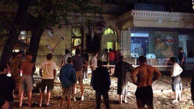У центрі Одеси підірвали кафе
