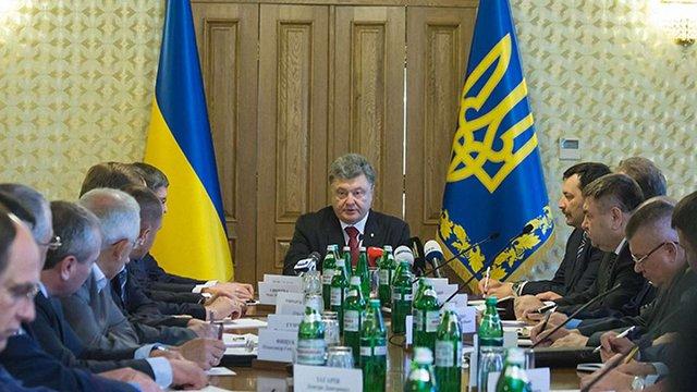 Порошенко запропонував будувати дороги на Львівщині з надходжень від боротьби з контрабандою