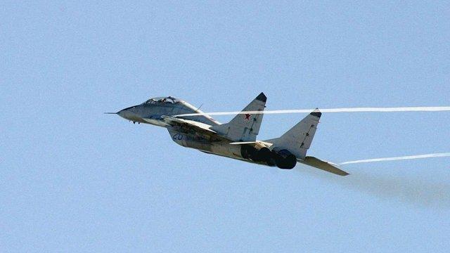 На Кубані розбився російський МіГ-29