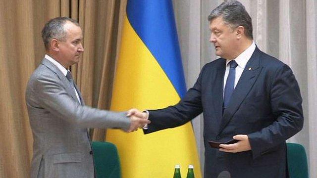 Президент представив Василя Грицака керівництву СБУ