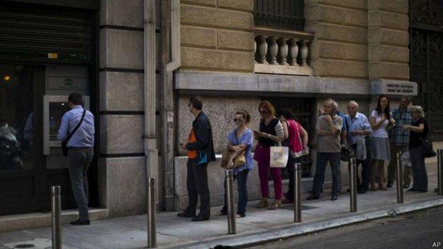 У банках Греції залишилося всього €1 млрд