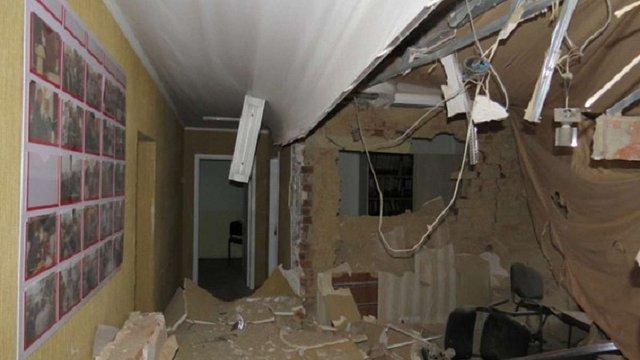 В Сумах прогримів вибух в офісі партії «Батьківщини»