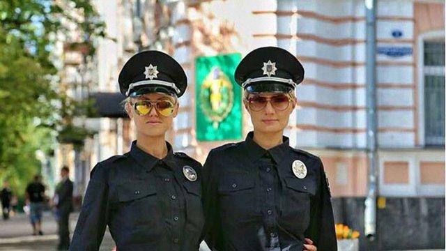 Україна - лідер в Європі за кількістю дівчат-поліцейських