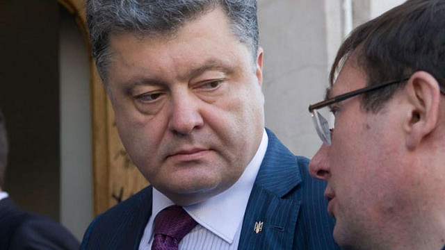 Порошенко дві години вмовляв Юрія Луценка залишитися головою фракції БПП