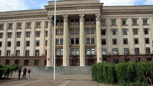 У згорілому будинку профспілок в Одесі розміститься штаб ВМС, - Саакашвілі