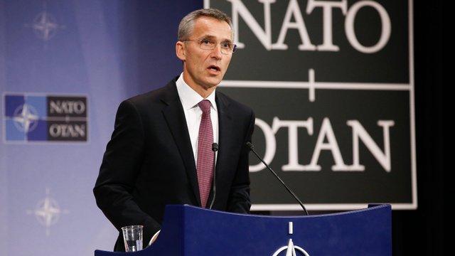 Столтенберг відкинув можливість втручання Росії у питання членства України в НАТО