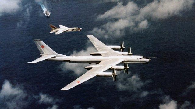 Російські бомбардувальники були перехоплені біля берегів США 4 липня