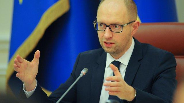 Яценюк пропонує створити нафтового гіганта з «Укрнафти», «Укртранснафти» і «Укртатнафти»