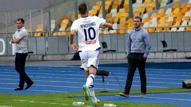 Андрія Ярмоленка назвали кращим гравцем України, Сергія Реброва - кращим тренером