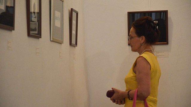 У Львівській національній академії мистецтв відкрилась виставка офортів