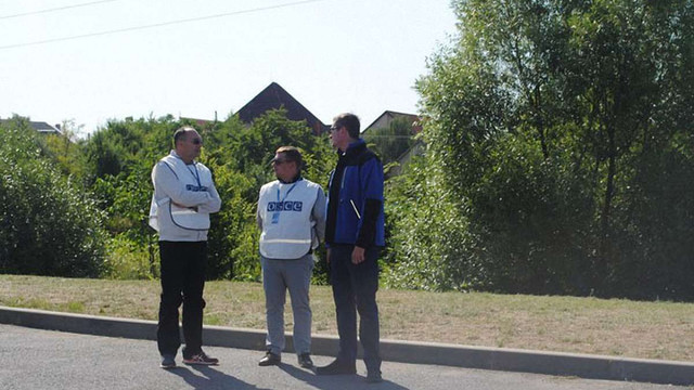 До Мукачевого прибули спостерігачі місії ОБСЄ