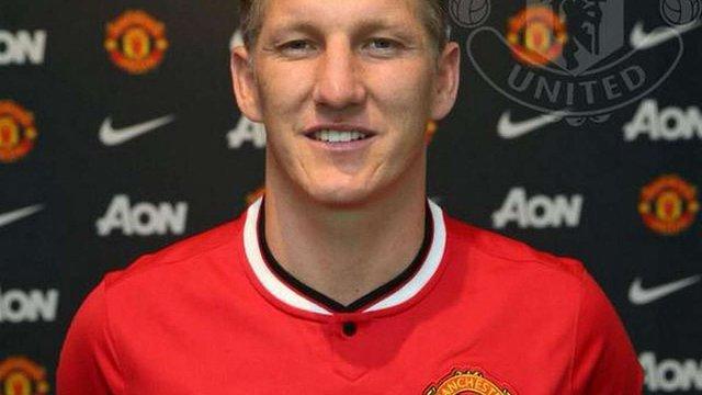 Офіційно: Бастіан Швайнштайгер - гравець «Манчестер Юнайтед»