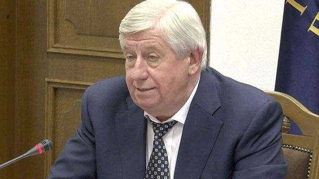 Віктор Шокін заперечив звинувачення у здійснені тиску на своїх заступників