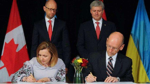 Україна і Канада офіційно завершили переговори про створення ЗВТ