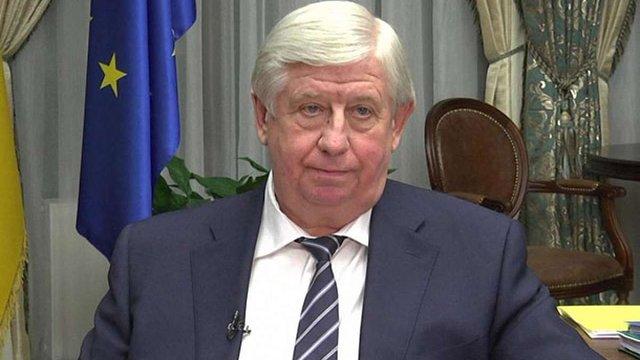 Антикорупційний комітет при ВРУ рекомендував депутатам звільнити Шокіна
