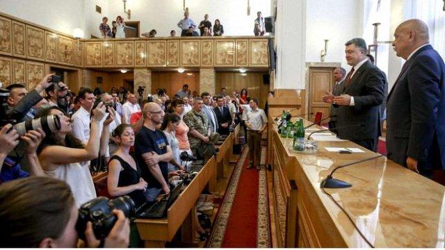Порошенко анонсував повну заміну керівництва прикордонної служби в Закарпатській області