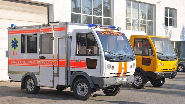 Львівські медики купили «швидку» в «Концерну-Електрон»  за мільйон гривень
