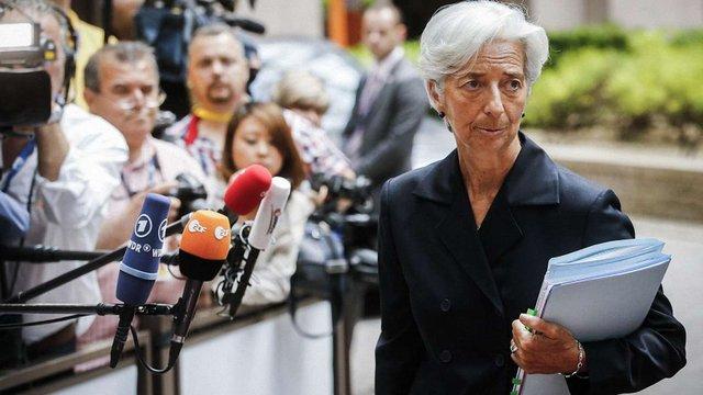 МВФ: Питання виходу Греції з єврозони з порядку денного зняте