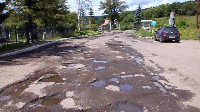 Одесити відремонтують дорогу до Славського за кошти митниці