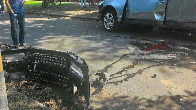 Автомобіль, який в суботу вибухнув у Черкасах, належав місцевому бізнесменові