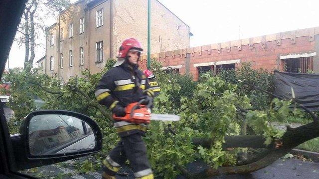 Через сильний буревій у Польщі загинула жінка