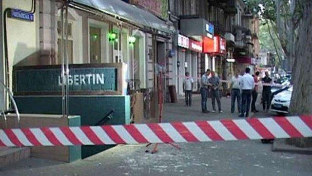В Одесі прогримів вибух у барі, постраждав охоронець