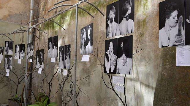 У Львові відкрилась фотовиставка «Жінка/Квітка»