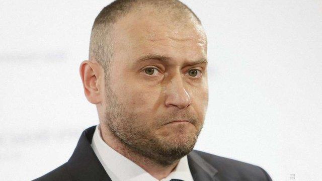 Ярош заявив, що «Правий сектор» не братиме участі у місцевих виборах