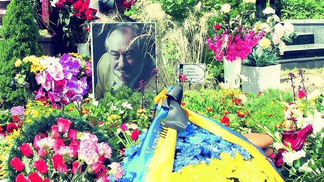 Пам'ятник на могилі Богдана Ступки не встановили через брак коштів
