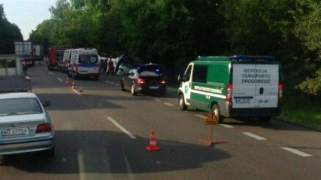 У Польщі розбився український автобус: 4 людини загинули, понад 20 поранених