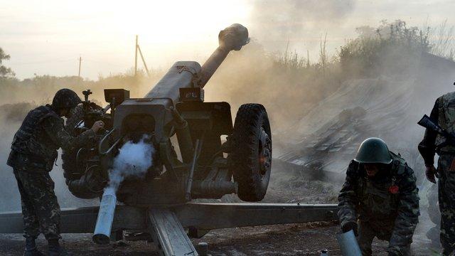 За останню добу позиції ЗСУ обстрілювалися бойовиками 86 разів, - штаб АТО