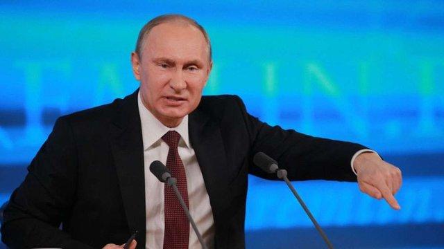 У Росії оприлюднили новий рейтинг Путіна